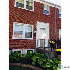 Rental info for EDMONDSON HEIGHTS TOWNHOUSE in the Woodlawn area