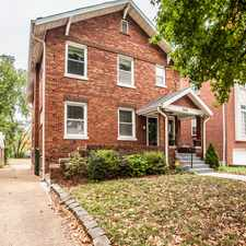 Rental info for 7019 Dartmouth, University City in the University City area