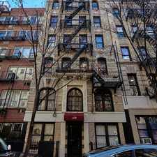 Rental info for 178 Thompson St in the Greenwich Village area