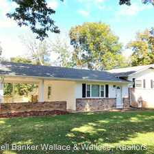 Rental info for 1813 South Hills Drive L/O
