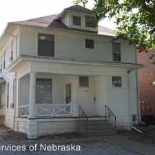Rental info for 1341 D St #1 in the Lincoln area