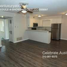 Rental info for 2600 Enfield in the Austin area