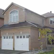 Rental info for 8 Whistler Court in the Markham area