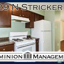 Rental info for Spacious Living Room! Updated Kitchen Appliances! Beautiful Bedrooms! in the Baltimore area