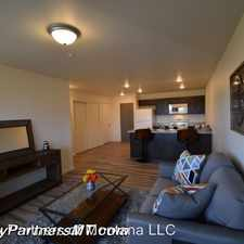 Rental info for 96 S. Cottonwood - Unit 101 in the Bozeman area