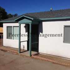Rental info for 1095 E Washington Avenue in the Rancho San Diego area