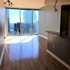 Rental info for 210 N Church Street Unit 3605 in the First Ward area