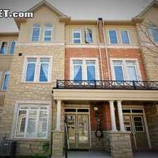 Rental info for 2599 3 bedroom Townhouse in Toronto Area Oakville
