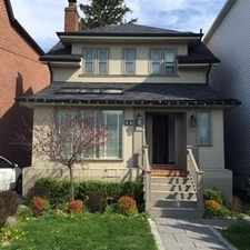 Rental info for 12B Roslin Ave in the Lawrence Park North area