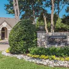 Rental info for Stoneleigh on Spring Creek in the Garland area