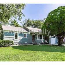 Rental info for 6106 West 75th Street in the Kansas City area