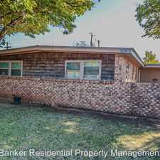 Rental info for 2803 66th st in the Caprock area
