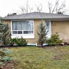 Rental info for 65 Richardson Drive in the Aurora area
