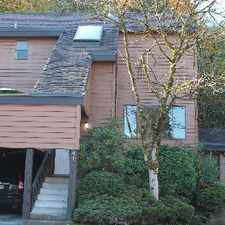 Rental info for Port Moody Townhouse for rent