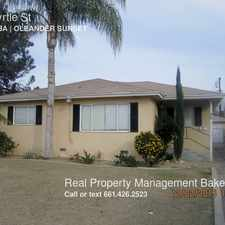 Rental info for 26 Myrtle St in the Bakersfield area