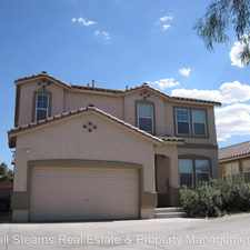 Rental info for 581 Fork Mesa Court in the Henderson area