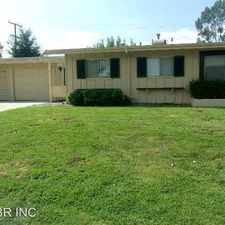Rental info for 26923 Augusta Drive in the 92586 area