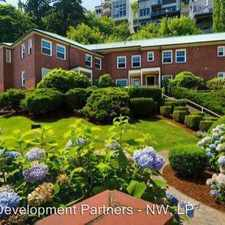 Rental info for 2073 SW Park Ave - 220 in the Southwest Hills area