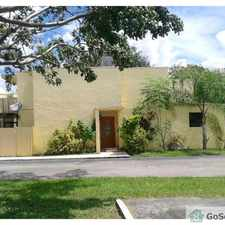 Rental info for GORGEOUS RENOVATED Town Home/ VILLA - 3 bedrooms 2 and a half bath in the South Miami Heights area