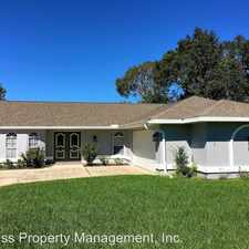 Rental info for 2419 Lackland Avenue in the 34608 area