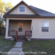 Rental info for 456 6th Ave N in the Twin Falls area