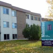 Rental info for Huntsville Apartments in the Calgary area