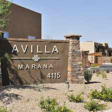 Rental info for Avilla Marana 2 in the Casas Adobes area