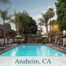 Rental info for Start Apartments In Anaheim, CA. in the Anaheim area