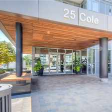 Rental info for 25 Cole Street in the Regent Park area