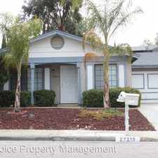 Rental info for 27219 El Puente Street in the 92586 area