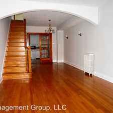 Rental info for 1107 S Robinson St in the Baltimore area