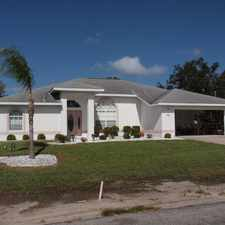 Rental info for Port Charlotte Blvd