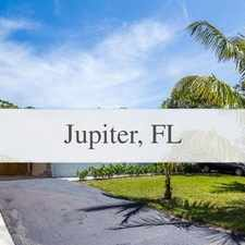 Rental info for Absolutely Incredible House In The Heart Of Jup... in the Jupiter area