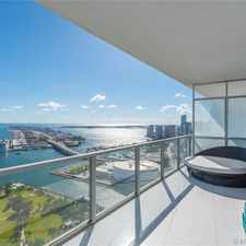 Rental info for 1100 Biscayne #5202 in the Miami area