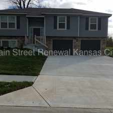 Rental info for Come See this Home in Grain Valley MO