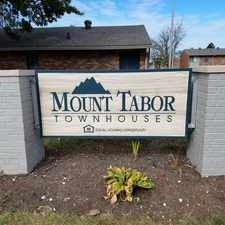 Rental info for Mount Tabor Townhouses