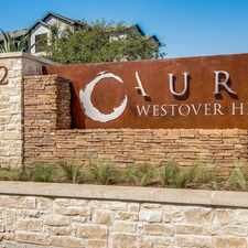 Rental info for Aura Westover Hills in the San Antonio area