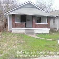 Rental info for 2410 Indianapolis in the Indianapolis area