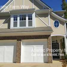 Rental info for 3934 Abernathy Farm Way in the Acworth area