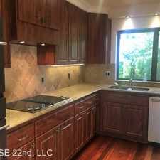 Rental info for 6570 SW Canyon Court in the Portland area