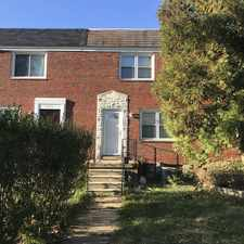 Rental info for 1304 Hillsway Ct in the Parkville area