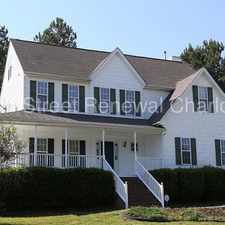 Rental info for Wonderful Home In Wake Forest