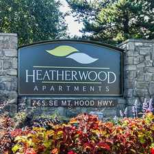 Rental info for Heatherwood Apts