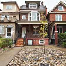 Rental info for 756 Crawford St #Main in the Dovercourt-Wallace Emerson-Juncti area