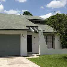 Rental info for Tricon American Homes in the Citrus Park area