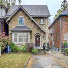 Rental info for 496 Saint Clements Avenue in the Forest Hill North area