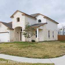 Rental info for 2401 Black Orchid in the Fort Hood area