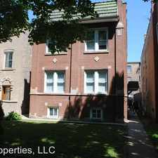 Rental info for 3821 N. Sawyer in the Irving Park area