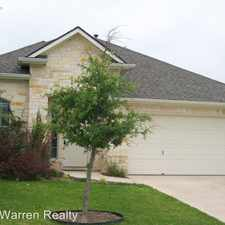 Rental info for 315 Saddle Ridge in the Cedar Park area