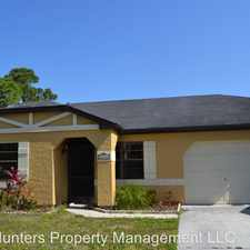 Rental info for 20008 Beule Ct in the 33952 area